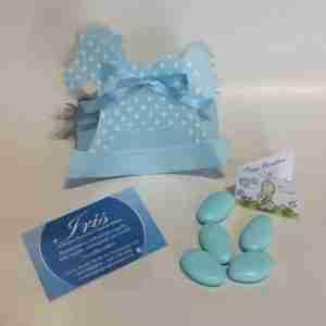 Cavalluccio azzurro Portaconfetti
