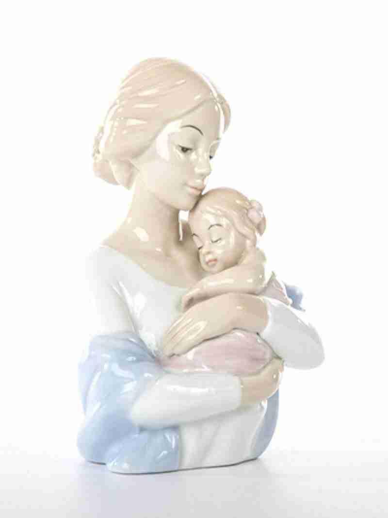 Mamma Con Bimba Morena D8317