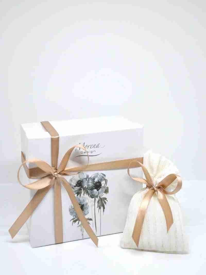 scatola e sacchetto morea