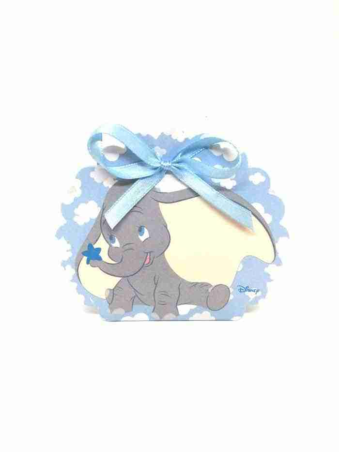 Portaconfetti Dumbo Disney Azzurro