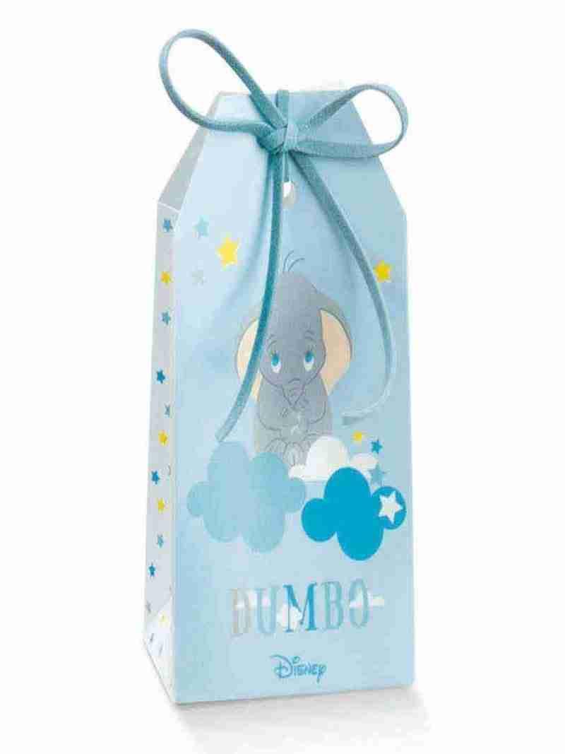 Portaconfetti Scatolina Azzurra Dumbo