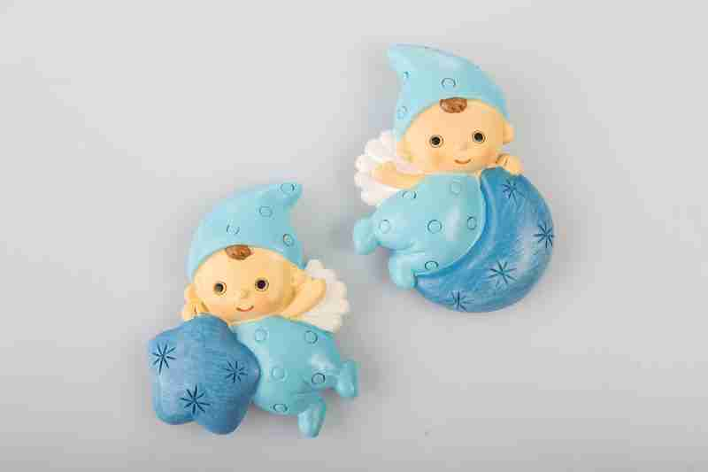 Magnete Baby Angelo azzurro2