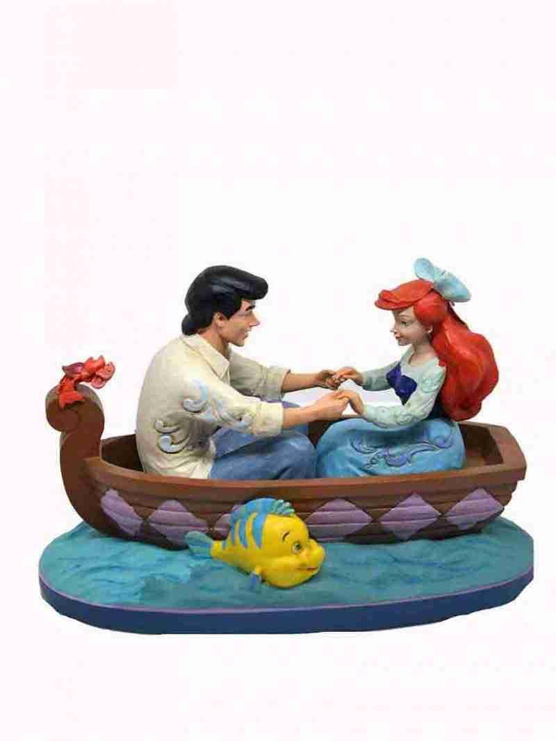 Eric e Ariel Barca Disney