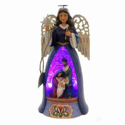 Angelo della Natività con luce