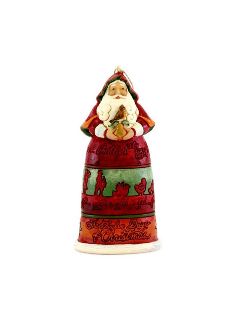 Babbo Natale a calendario Jim Shore