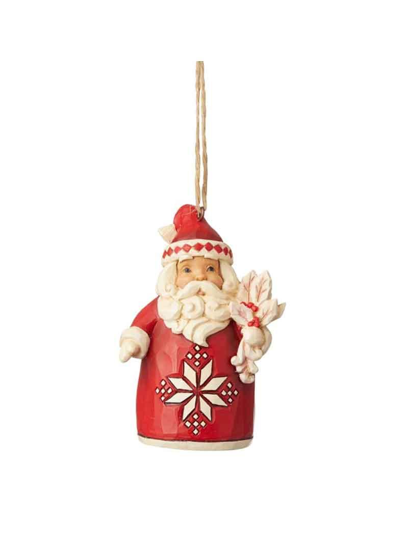 Babbo Natale con pungitopo