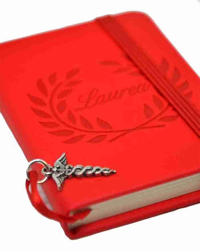 Caduceo Bomboniera Agenda Rossa_2