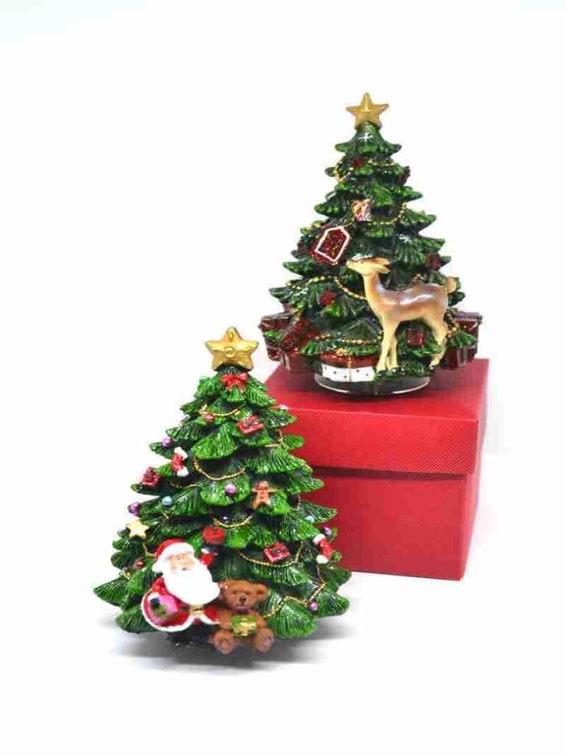 Carillon Albero Babbo Natale