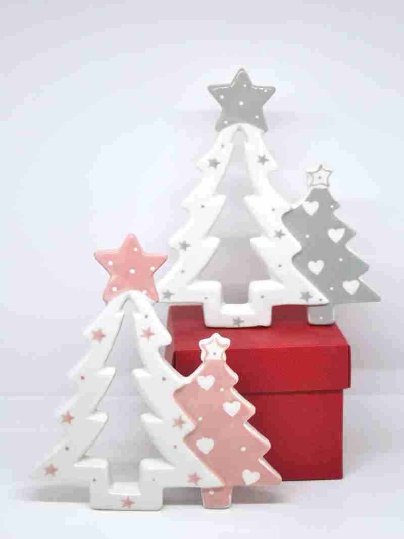 Coppia Alberi Natale