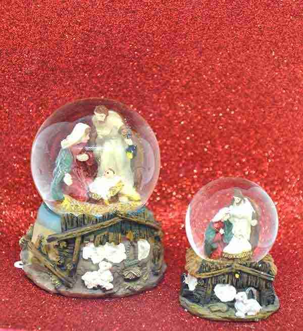 Palla Acqua Neve Natale