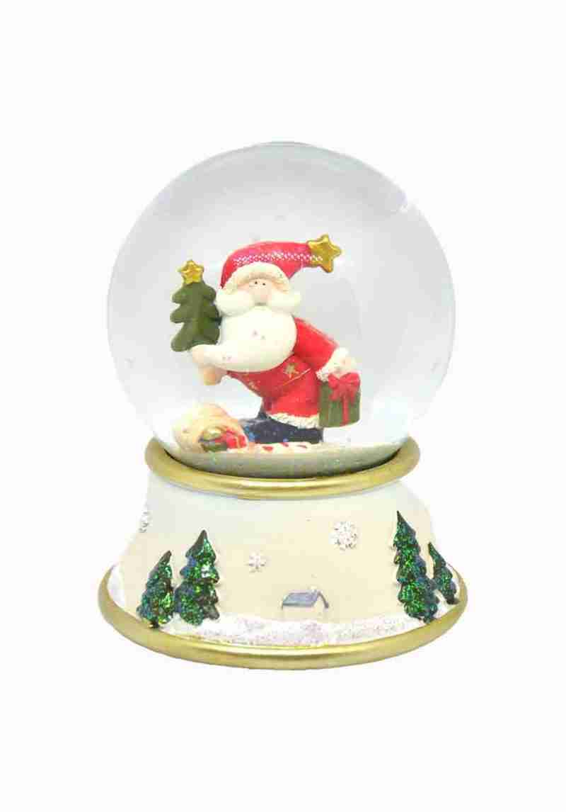 Palla neve Babbo Natale