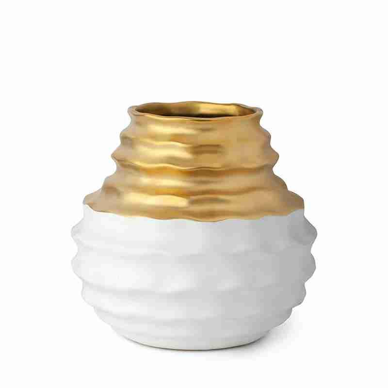Piccolo Vaso Oro Bianco