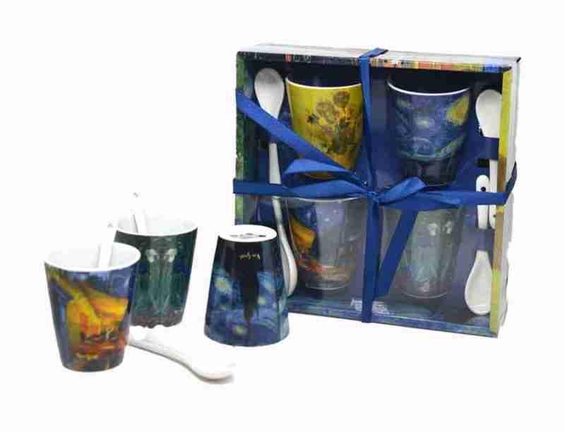 Set Tazzine Van Gogh