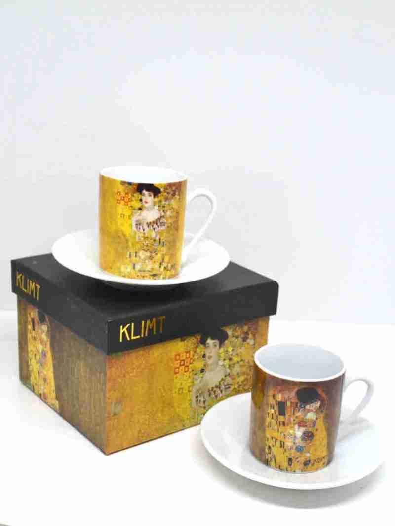 Tazzine caffè Klimt