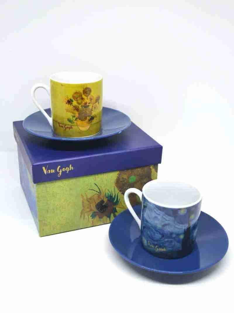 Tazzine caffè Van Gogh
