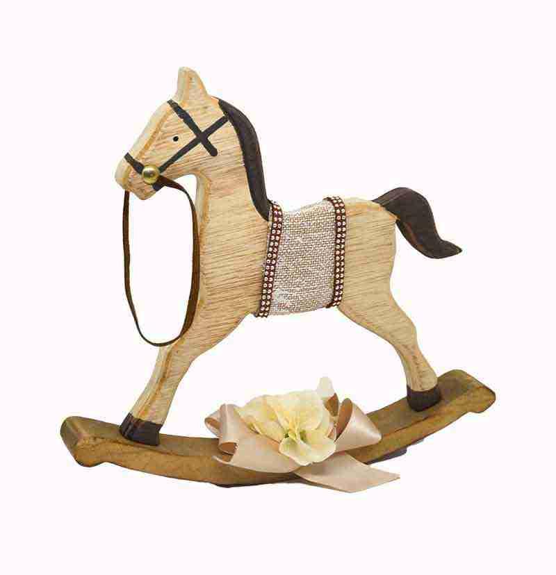 Cavallo Dondolo Legno