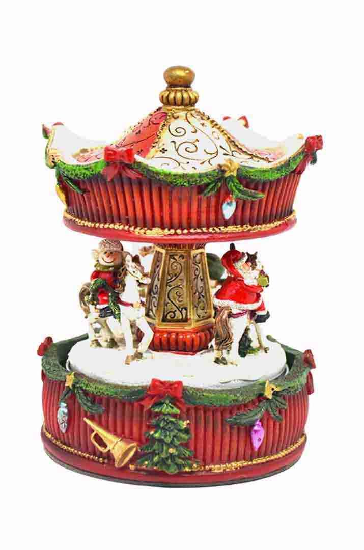 giostra carillon natalizia