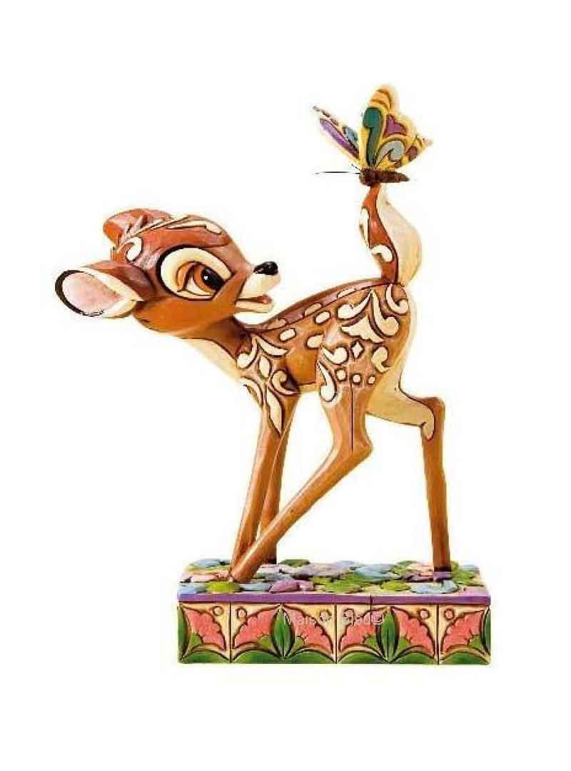 Bambi con Farfalla Disney