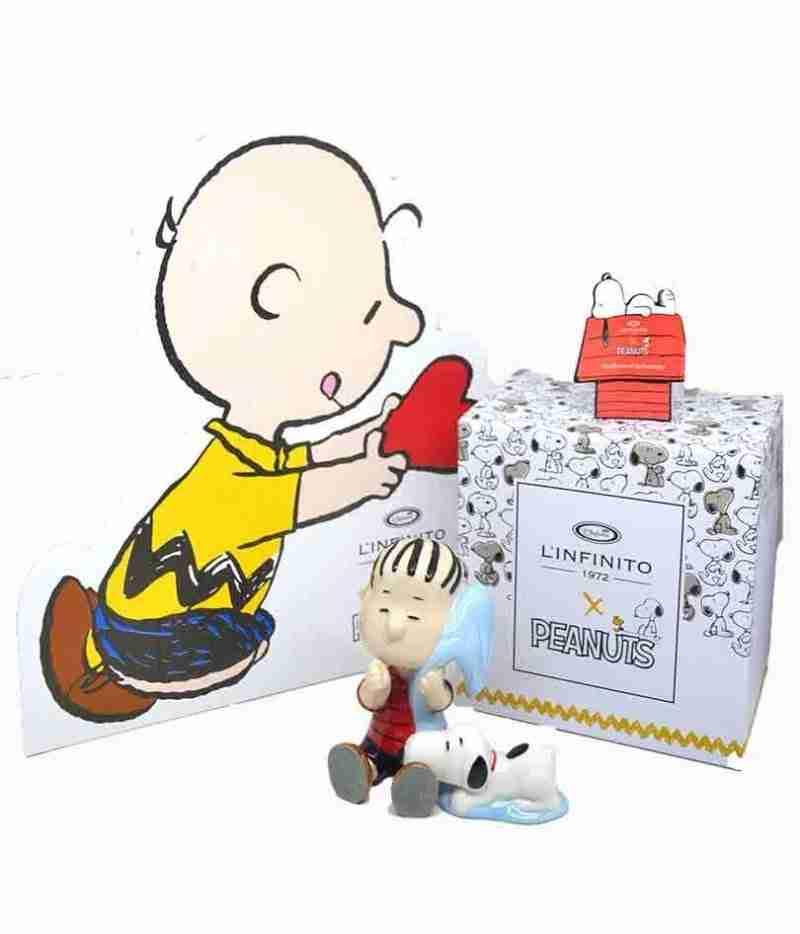 Linus e Snoopy con Copertina