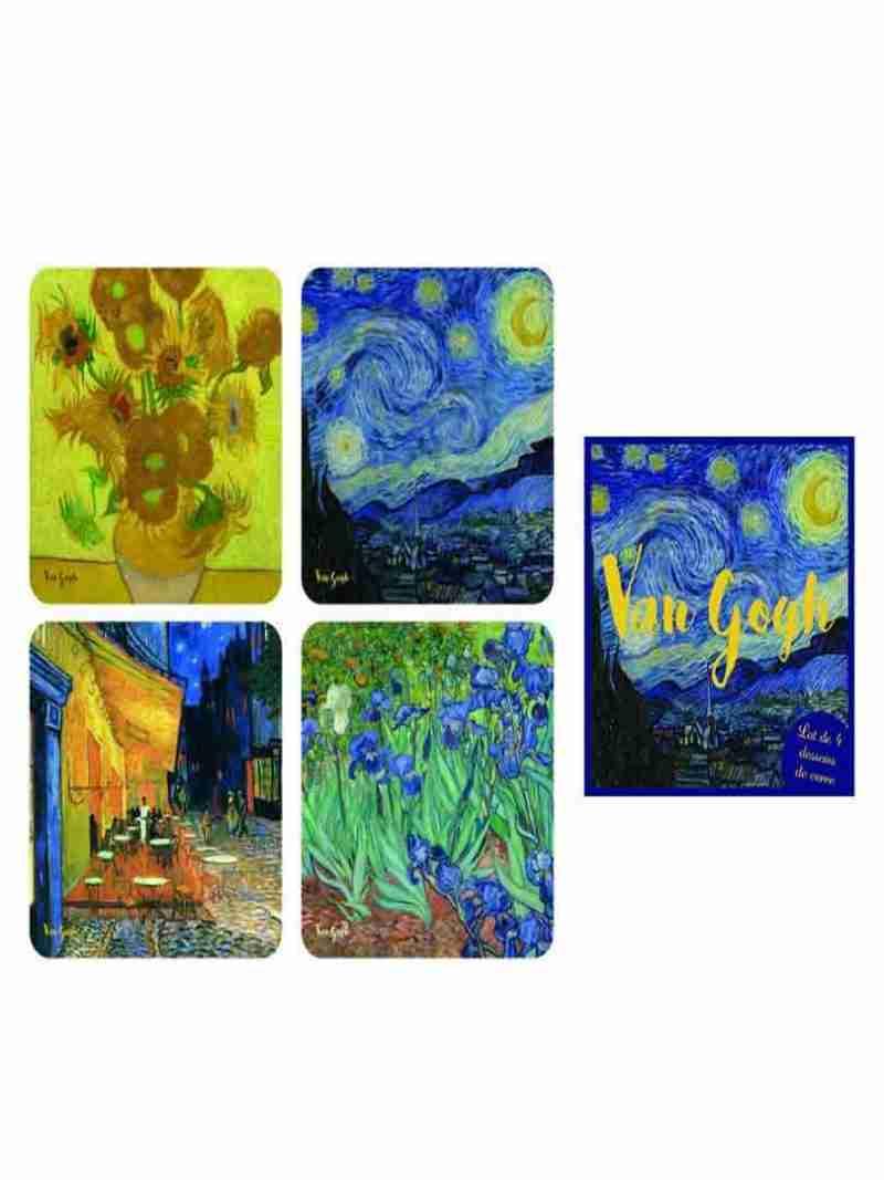 Sotto bicchieri assortiti Van Gogh