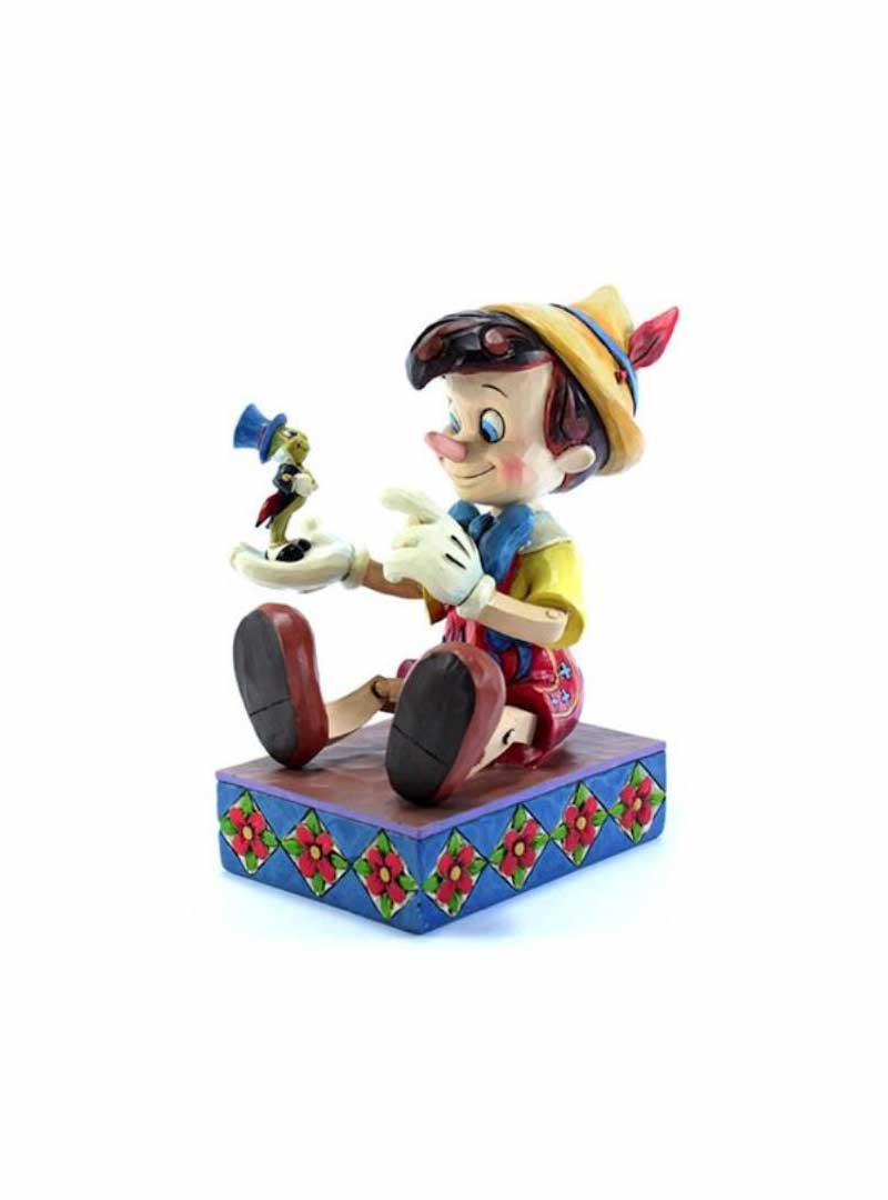 Pinocchio con grillo parlante