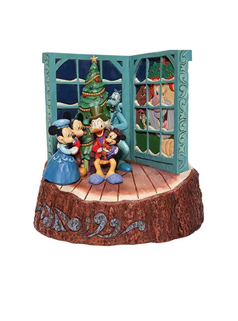 Baule natalizio in casa di Topolino
