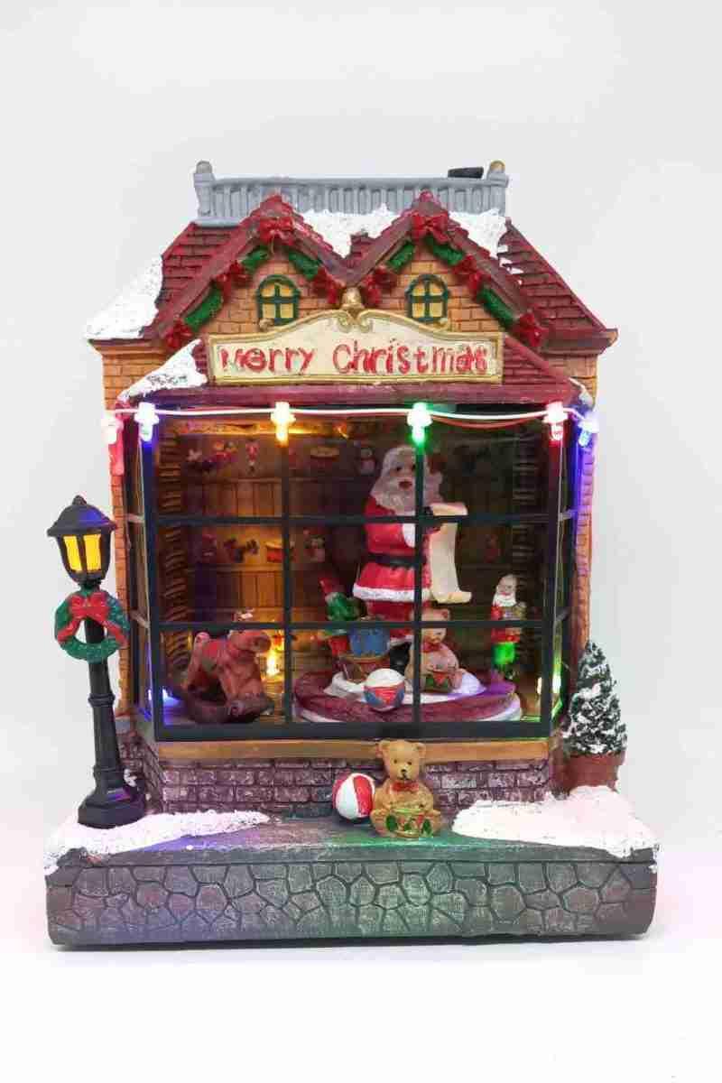 Giostra Negozio Babbo Natale