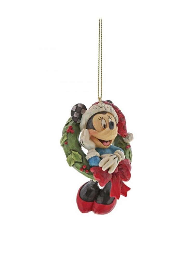 Minni Babbo Natale su Ghirlanda