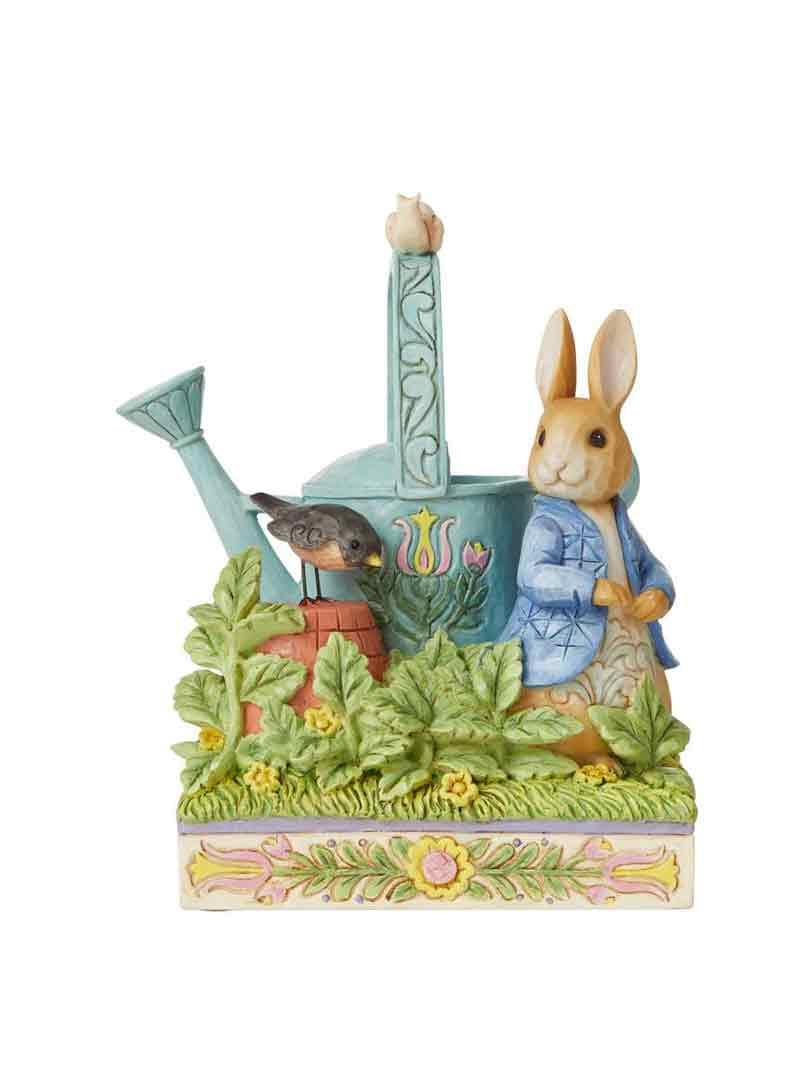 Peter rabbit con annaffiatoio