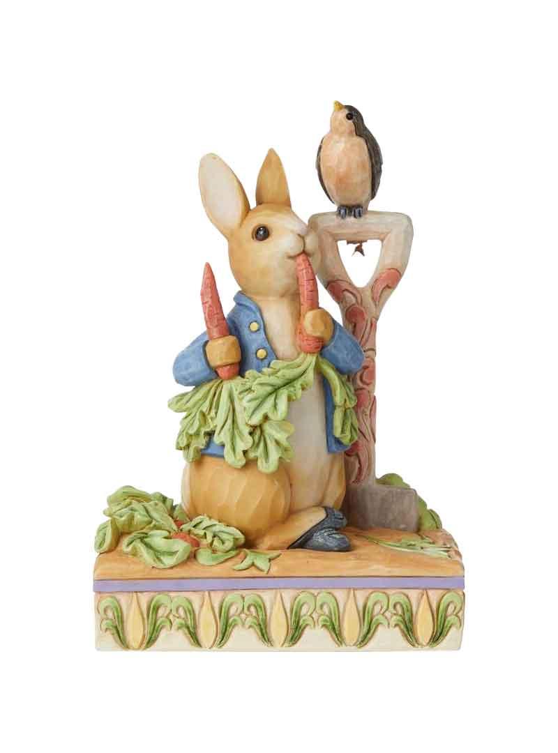 Peter rabbit con uccellino